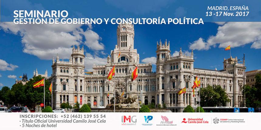 II Seminario Gestión de Gobierno del Instituto Mejores Gobernantes en Madrid